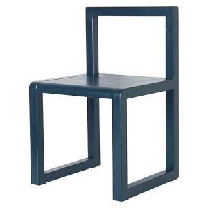 Ferm Living Little Architect Stoel - Donkerblauw