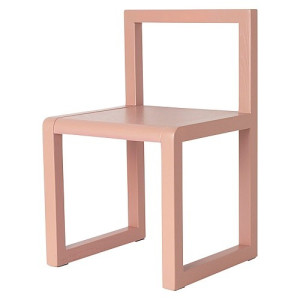 Ferm Living Little Architect Stoel - Roze