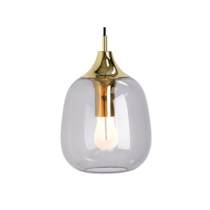 Temple hanglamp met 002 Plumen lamp, messing