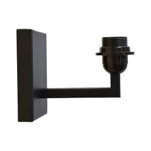 Urban Interiors wandlamp 'Basic', kleur Antique Black