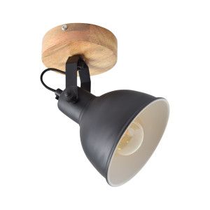 Urban Interiors lafondspot Woody Ø16 single, kleur Vintage Black