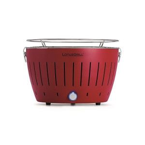 LotusGrill Houtskoolbarbecue 34 cm - Rood