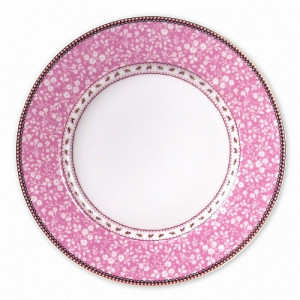 PiP Floral Dinerbord 26,5 cm - Pink