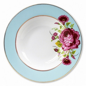 PiP Floral Pastabord 26,5 cm - Blue