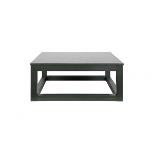 Wout salontafel eiken blacknight 85x85 cm