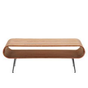 Hooper salontafel met opbergruimte, naturel essenhout