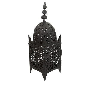 Household Hardware Marrakech Lantaarn Zwart - 64 cm