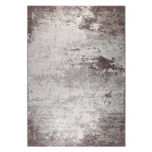 Dutchbone Vloerkleed 'Caruso' 170 x 240cm, kleur Distressed Brown
