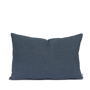 By Mölle Chambray Linnen Kussen Faded Blue - 40x60 cm