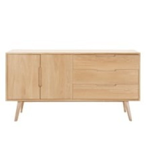 Jenson dressoir, massief eiken