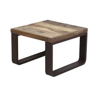 Light & Living Salontafel 'Cuenca' 65x65x45 cm, railway hout