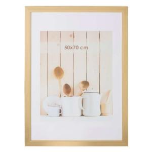 Fotolijst Utrecht - goudkleur - 50x70 cm - Leen Bakker