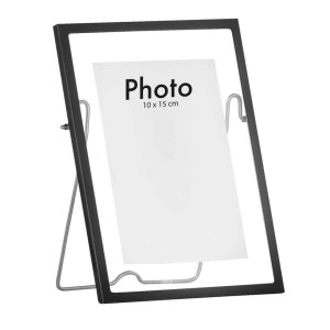 Fotolijst Haarlem - zwart - 15x20 cm - Leen Bakker