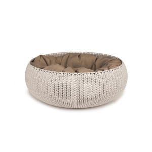 Curver cozy pet bed creme 50