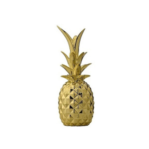 Bloomingville Ornament Ananas 24 cm - Goud