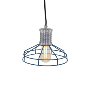 Anne Lighting - Wire-O Hanglamp - Blauw