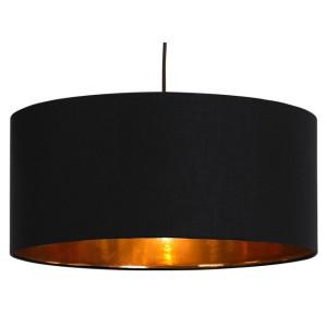 Hue hanglampenkap, zwart & koper