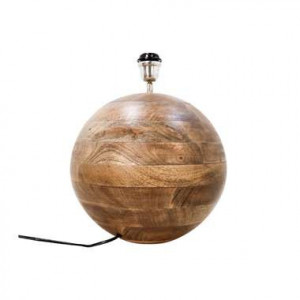 HSM Collection tafellamp Timber - naturel - 50x40 cm - Leen Bakker