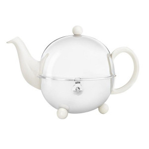 Bredemeijer Cosy Theepot 0,9 L - Crème/Wit