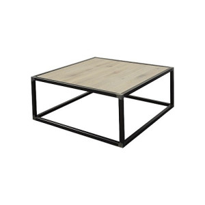 Spinder Design Diva Salontafel 80x80x35 - Blacksmith