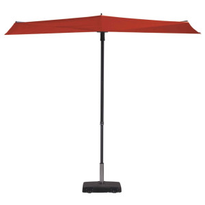 Madison Balkonparasol Sun Wave 300x150 cm steenrood