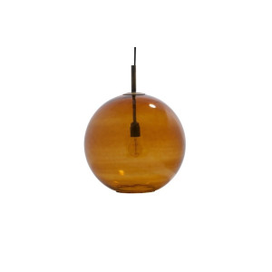 BePureHome Bold Hanglamp Large Glas - Roest