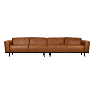 BePureHome Bank 'Statement' XL4-zits, kleur Cognac