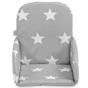 Jollein Stoelverkleiner Little Star dark grey 019-531-65009