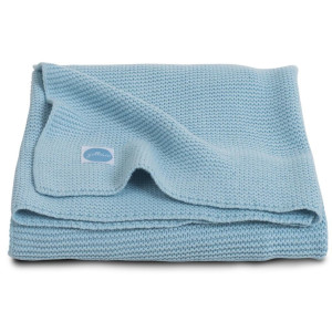 Jollein Deken Basic Knit 100x150 cm ice blue 516-522-65104