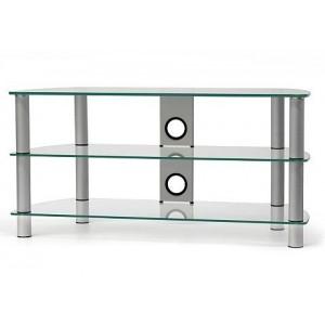 Glazen tv meubels online kopen for Tv meubel glas