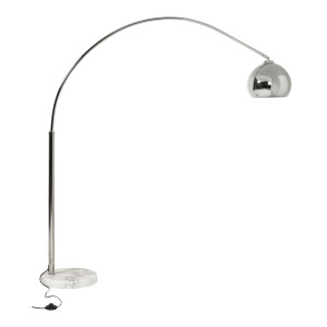 Kokoon Design booglamp 'Loft Small Chrome'