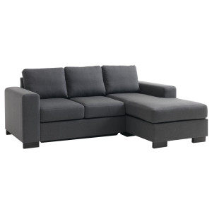 JYSK Bank EBBERUP chaise longue grijs