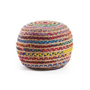 LaForma poef 'Samy', kleur multicolor