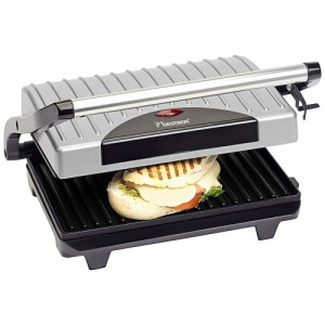 Bestron Panini Grill - Zilver
