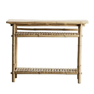 Tine K Home Sidetable Bamboe Bruin - 90 x 37 x 76 cm, nature