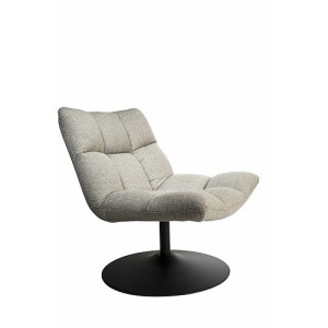 Dutchbone Bar Loungestoel - Light Grey