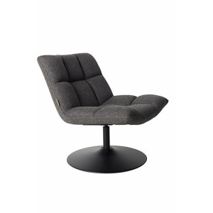 Dutchbone Bar Loungestoel - Dark Grey