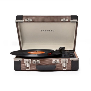 Crosley Executive Draagbare Platenspeler - Tweed/Black