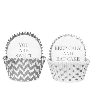 Delight Department White Silver Cakevormpje - Set van 50