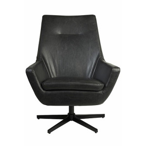 Dutchbone Don Fauteuil 95 cm - Black