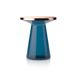 FIGURE | side table - blue - copper