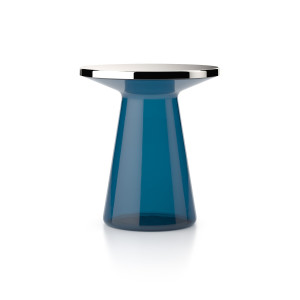 FIGURE | side table - blue - stainless steel