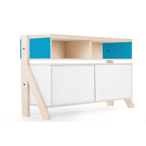 Frame Sideboard 02 Small - 10 Colours - L115cm - Iris Blue