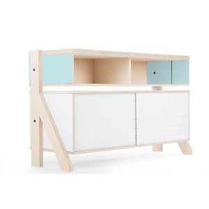 Frame Sideboard 02 Small - 10 Colours - L115cm - Butterfly Blue