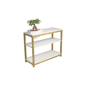 Volcane Console with Tree Pot - VCB (white)