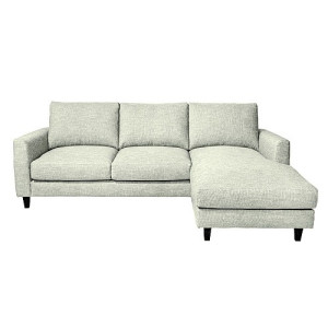Vestbjerg Hidra Bank 3-zits met chaise longue links - Mint