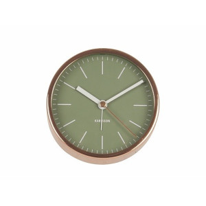 Karlsson Minimal Tafelklok 10 cm - Jungle Green