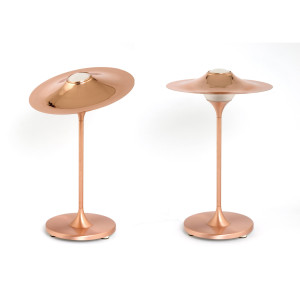 Table Skew Copper Lamp - Copper Body