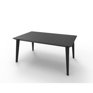 Allibert Lima Tuintafel 160 cm - Graphite