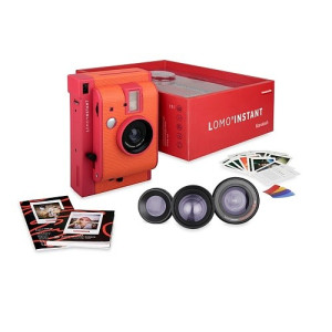 Lomography Polaroid Camera Lomo'Instant Mini Marrakesh - Incl. 3 Lenzen